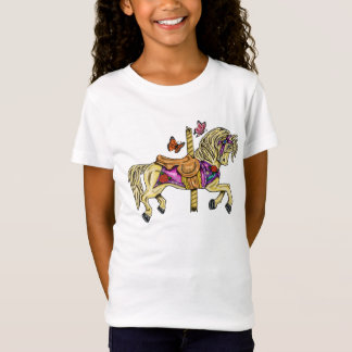 Carousel Horse Double sided T-Shirt
