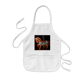 Carousel Horse Dreams and Magical Moments Kids' Apron