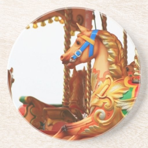 Carousel Horse Drink Coasters