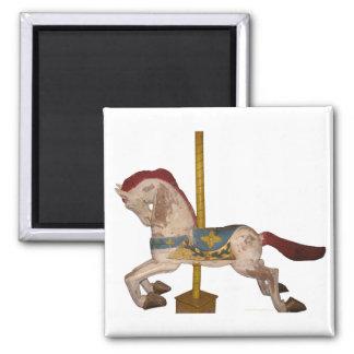 Carousel Horse Fridge Magnet
