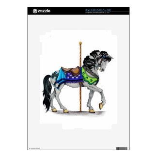 Carousel Horse iPad 2 Decals