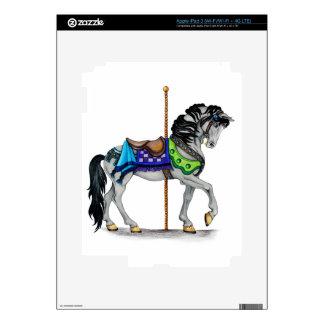 Carousel Horse iPad 3 Skins