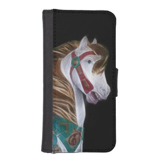 Carousel horse iPhone 5 wallet case