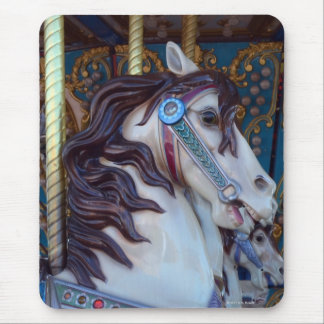 Carousel Horse Joy Mouse Pad
