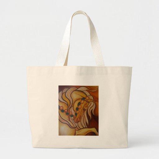 Carousel Horse Jumbo Tote Bag
