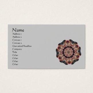 Carousel Horse Kaleidoscope Business Card