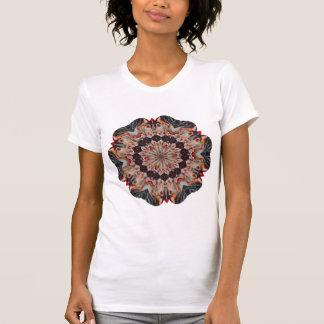 Carousel Horse Kaleidoscope Ladies T-Shirt