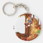 Carousel Horse Keychains