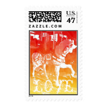 Carousel Horse LOVE Wedding Postage Stamps