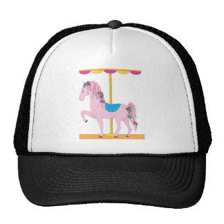 Carousel Horse Mesh Hats