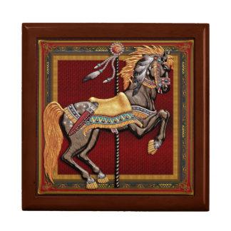 Carousel Horse, Midnight Rider, by Joseph Maas Keepsake Box