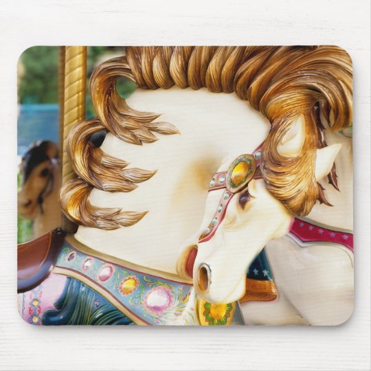 Carousel Horse Mouse Pad