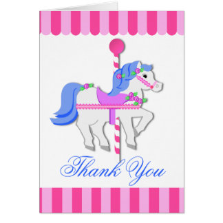 Carousel Horse Note Stationery Note Card