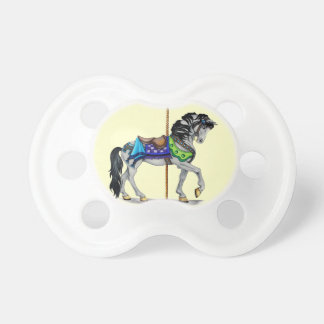 Carousel Horse Baby Pacifier
