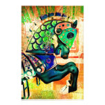 Carousel Horse paper Stationery