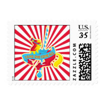 Carousel Horse Party Stamp