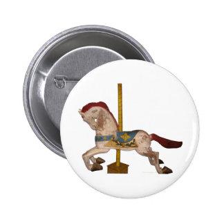 Carousel Horse Pinback Button