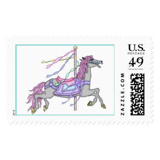 Carousel Horse Postage