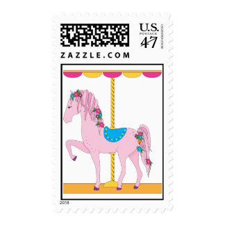 Carousel Horse Postage