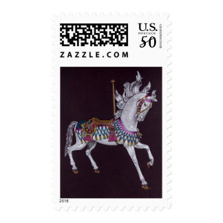 Carousel Horse postage stamps