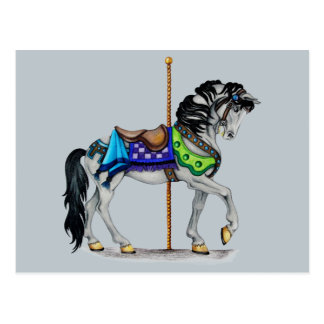 Carousel Horse Post Cards