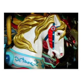 Carousel Horse Post Card
