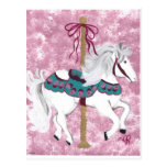 Carousel Horse Postcards