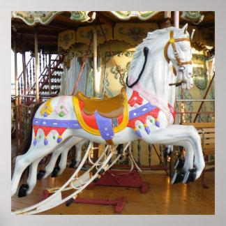 Carousel Horse Poster