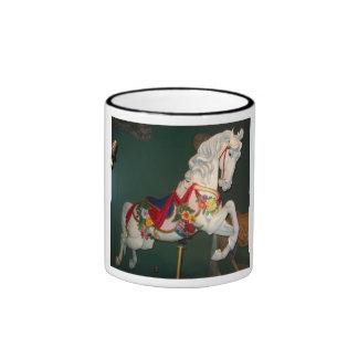 Carousel Horse Ringer Coffee Mug