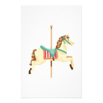 Carousel Horse Stationery