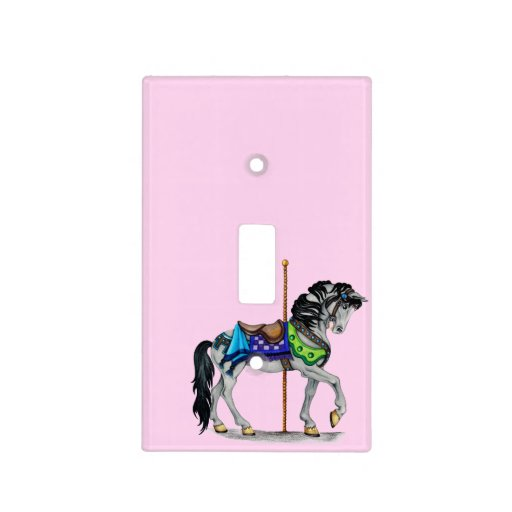 Carousel Horse Switch Cover Light Plates Zazzle