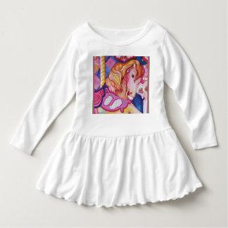 Carousel Horse Toddler Dress