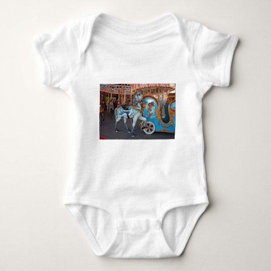 Carousel Horse with Cherub! Baby Bodysuit