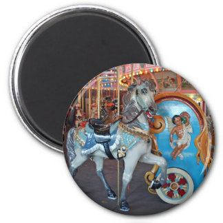 Carousel Horse with Cherub! Magnet