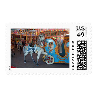 Carousel Horse with Cherub! Stamps