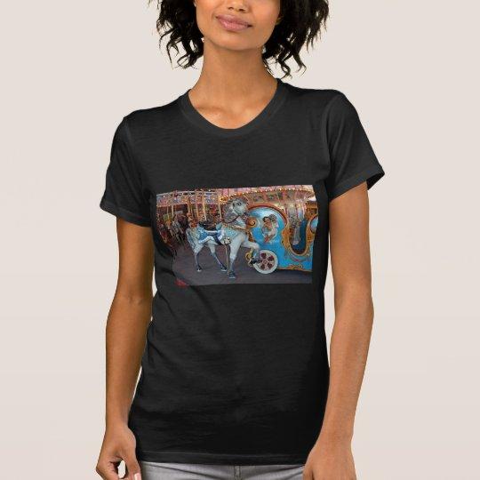 Carousel Horse with Cherub! T-Shirt