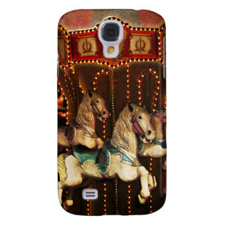 Carousel Horses Galaxy S4 Cover