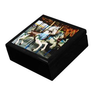 Carousel Horses Trinket Box