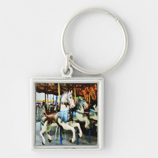 Carousel Horses Key Chains