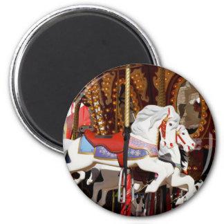 Carousel Horses Fridge Magnets
