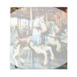 Carousel Horses Memo Notepad