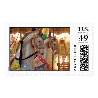 Carousel Horses Stamp