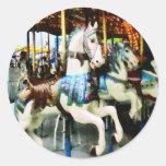 Carousel Horses Stickers