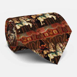 Carousel Horses Tie