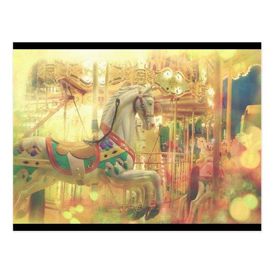 Carousel Hotel de Ville Postcard