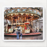 Carousel in Montmartre Mouse Pads