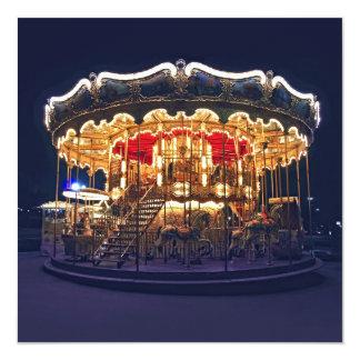 Carousel in Paris Card