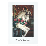 "Carousel Invitation 5"" X 7"" Invitation Card"