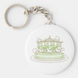 Carousel Keychain