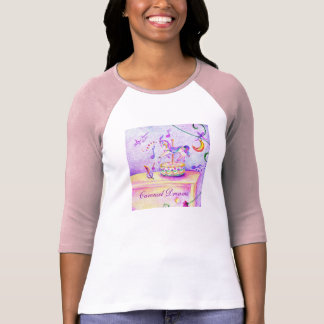 Carousel Ladies Raglan T-Shirt